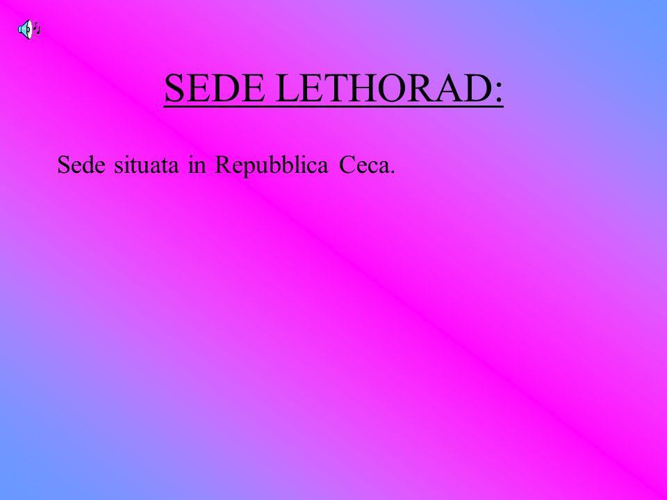 SEDE LETHORAD: Sede situata in Repubblica Ceca.
