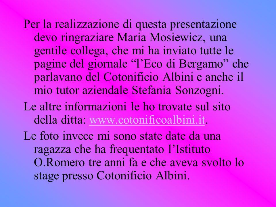 Per la realizzazione di questa presentazione devo ringraziare Maria Mosiewicz, una gentile collega, che mi ha inviato tutte le pagine del giornale lEc