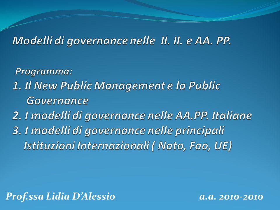 Prof.ssa Lidia DAlessio a.a. 2010-2010