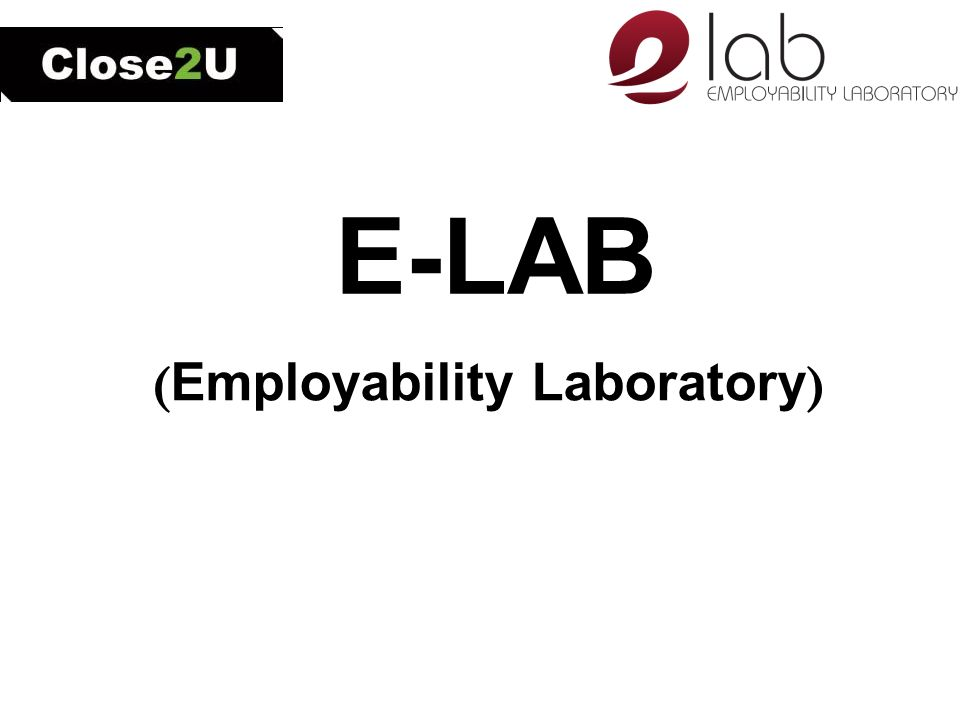E-LAB ( Employability Laboratory )