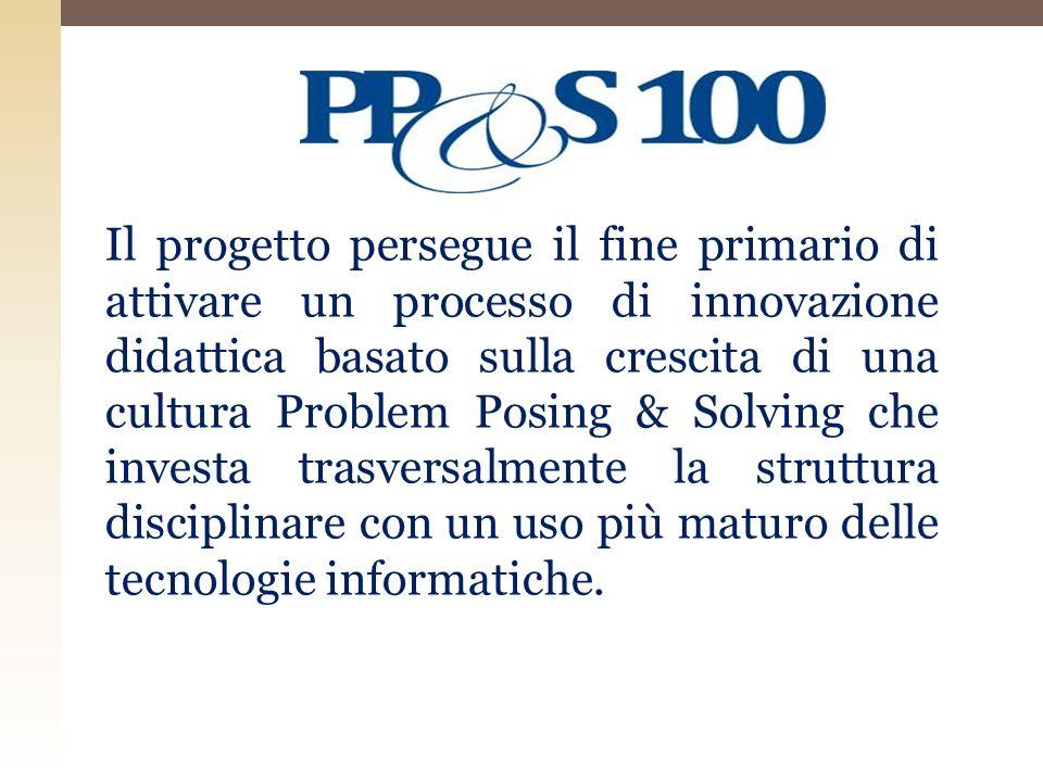 Il progetto, è focalizzato sul SECONDO BIENNIO e la sua organizzazione operativa prevede il coinvolgimento di 110 istituti distruzione secondaria di secondo grado con funzioni di poli delle reti territoriali.
