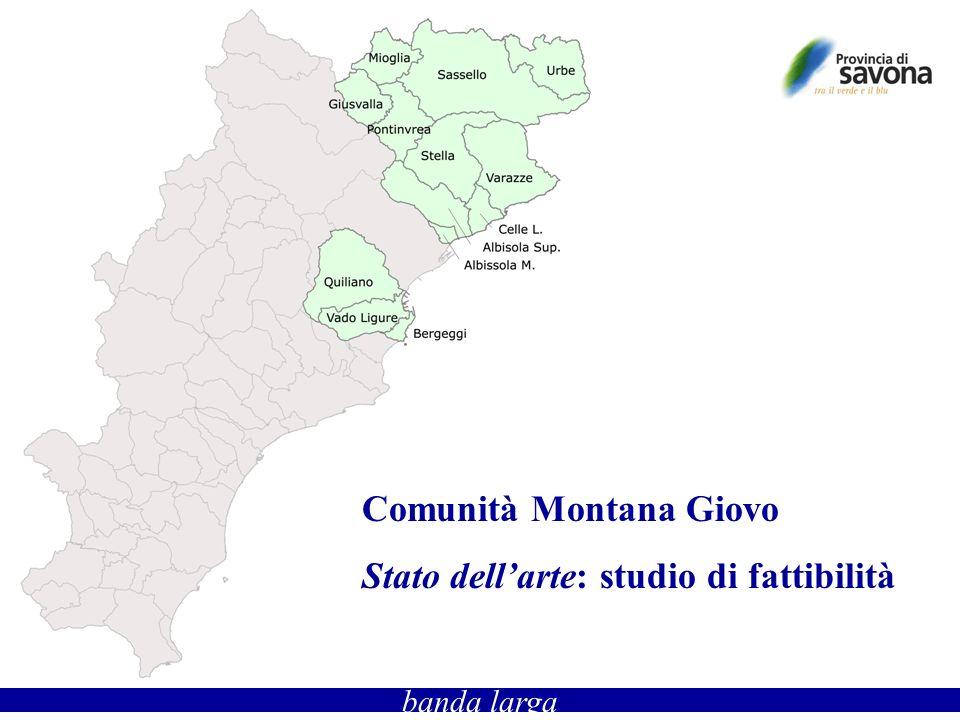 banda larga Comunità Montana Giovo Stato dellarte: studio di fattibilità