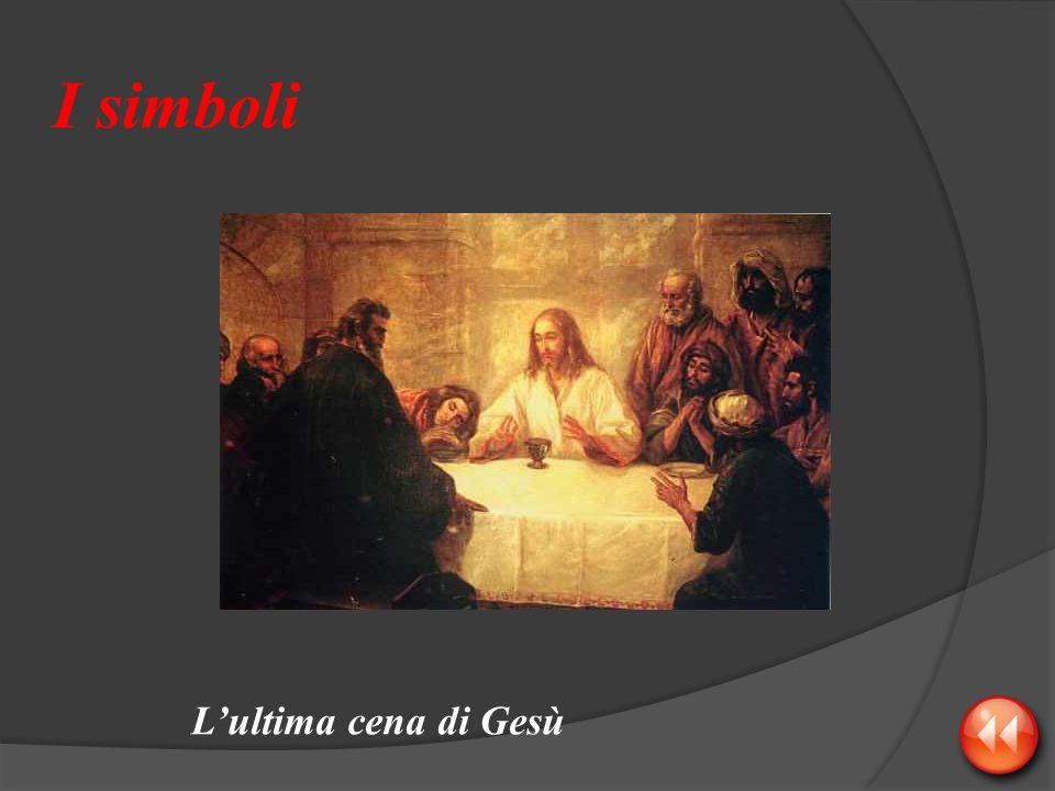 I simboli Lultima cena di Gesù
