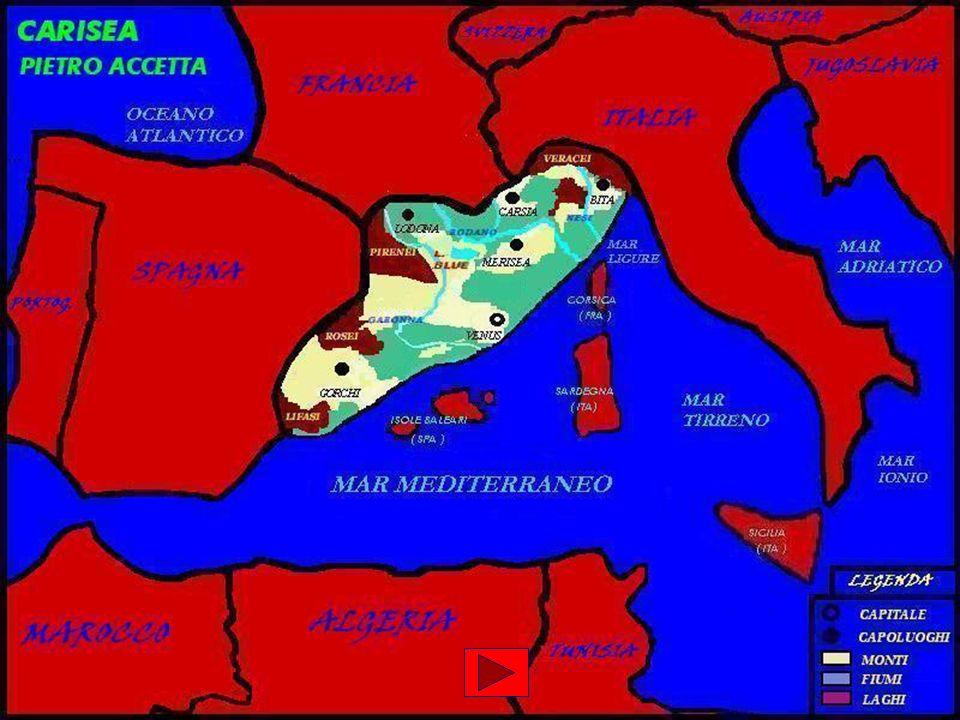La Carisea presenta per la maggiar parte del territorio pianure alluvionali.