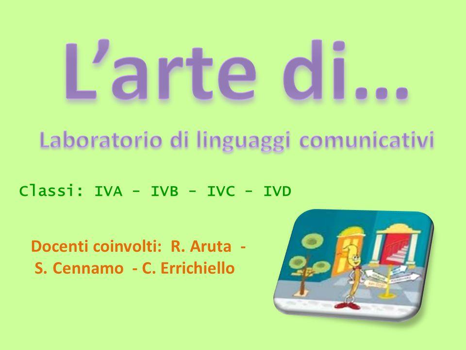 Classi: IVA - IVB - IVC - IVD Docenti coinvolti: R. Aruta - S. Cennamo - C. Errichiello