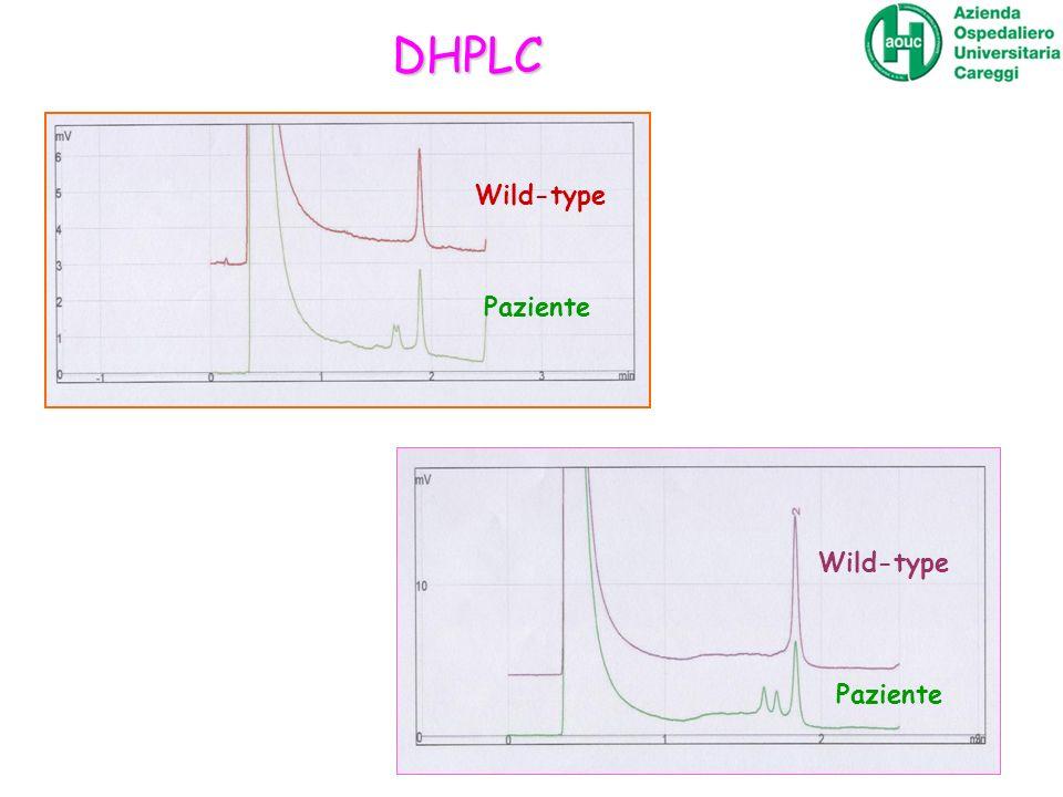 Wild-type Paziente Wild-type DHPLC
