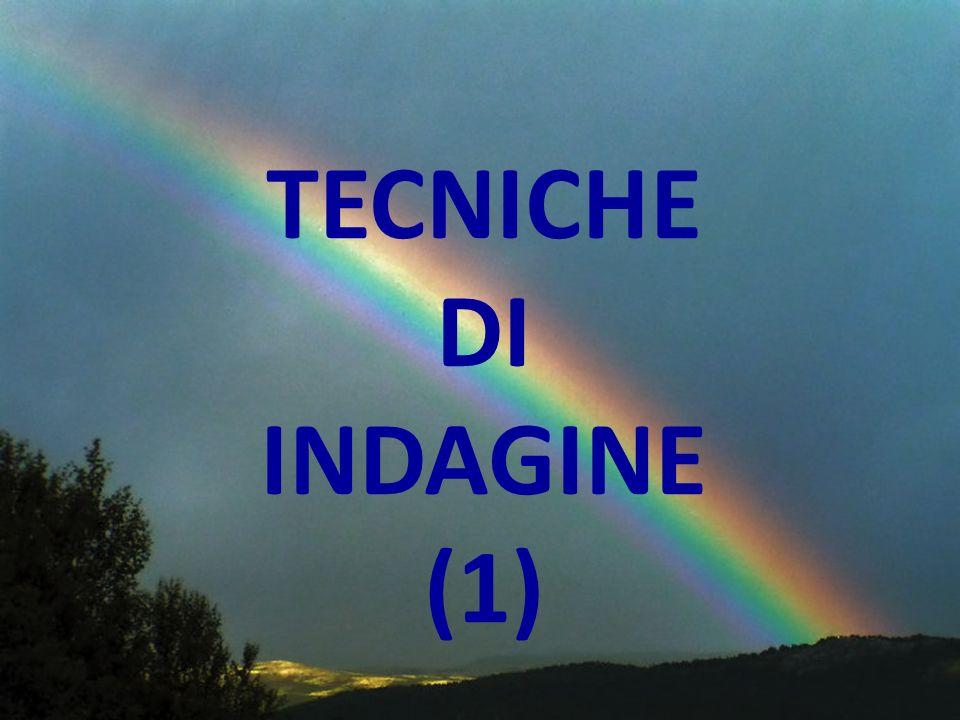 TECNICHE DI INDAGINE B.
