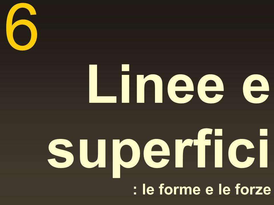 Linee e superfici : le forme e le forze 6