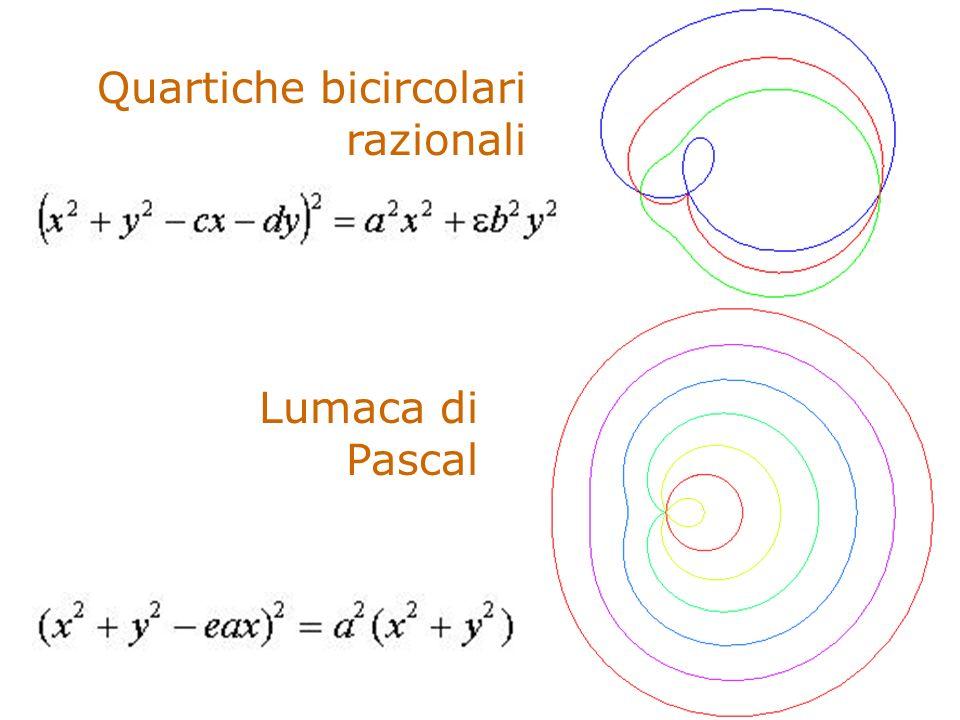 Quartiche bicircolari razionali Lumaca di Pascal