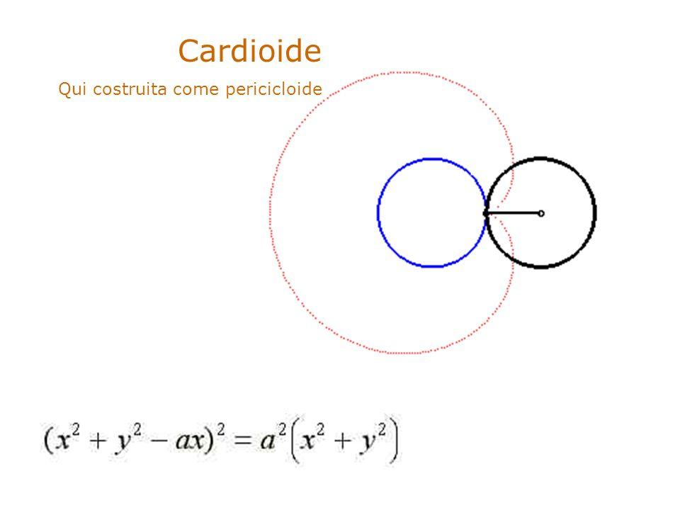 .. Cardioide Qui costruita come pericicloide
