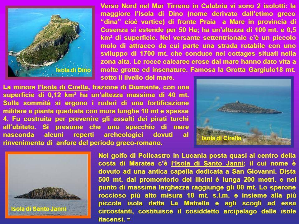 Vulcano, Alicudi, Filicudi, Panarea sono le altre Isole Eolie dette sette sorelle. L'Isola di Vulcano (frazione di Lipari) è un'isola di 21 km² con 71