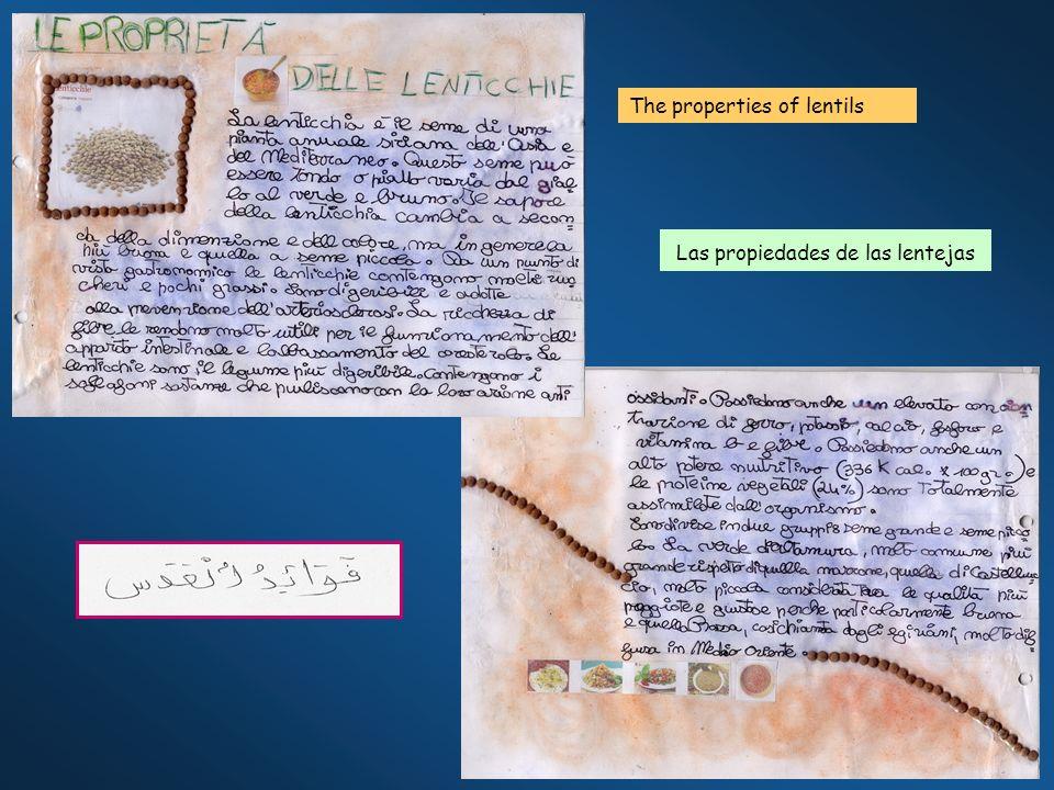 The properties of lentils Las propiedades de las lentejas
