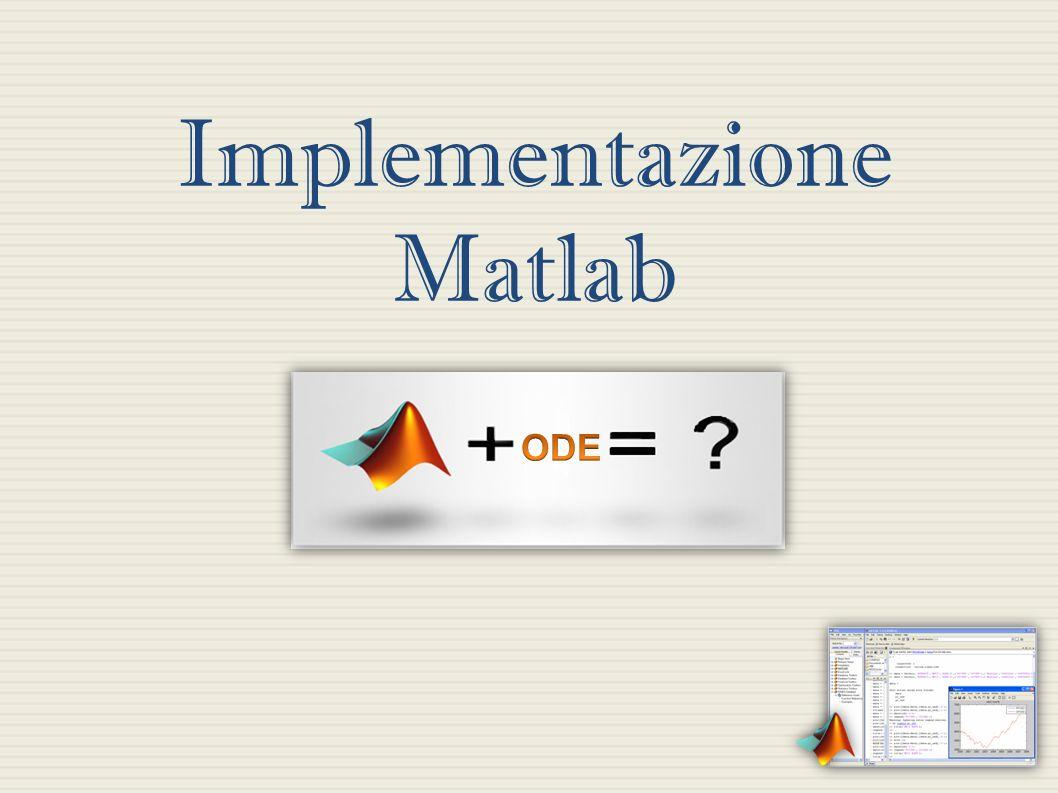 Implementazione Matlab