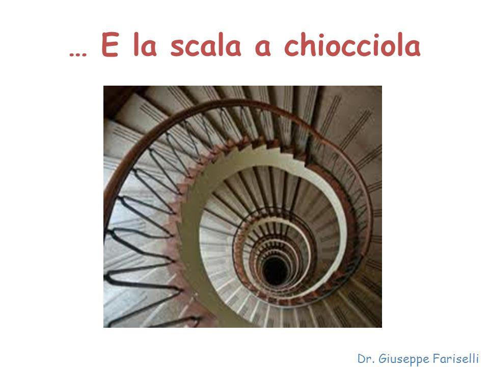 … E la scala a chiocciola Dr. Giuseppe Fariselli