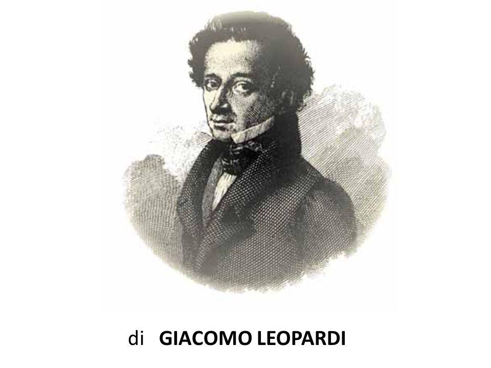 di GIACOMO LEOPARDI