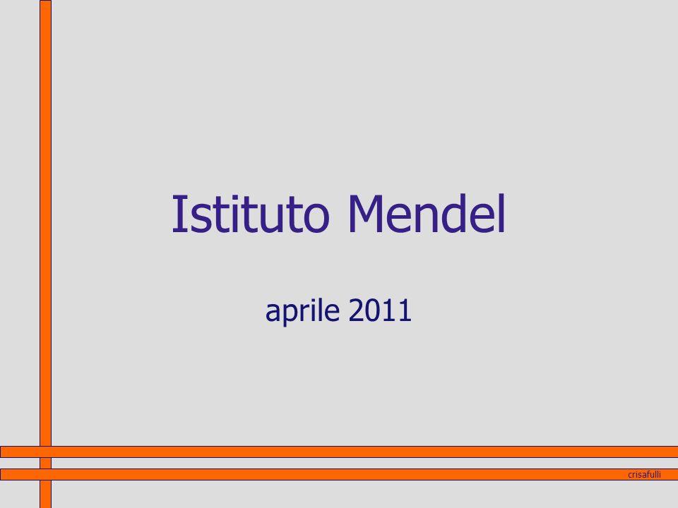 Istituto Mendel aprile 2011 crisafulli