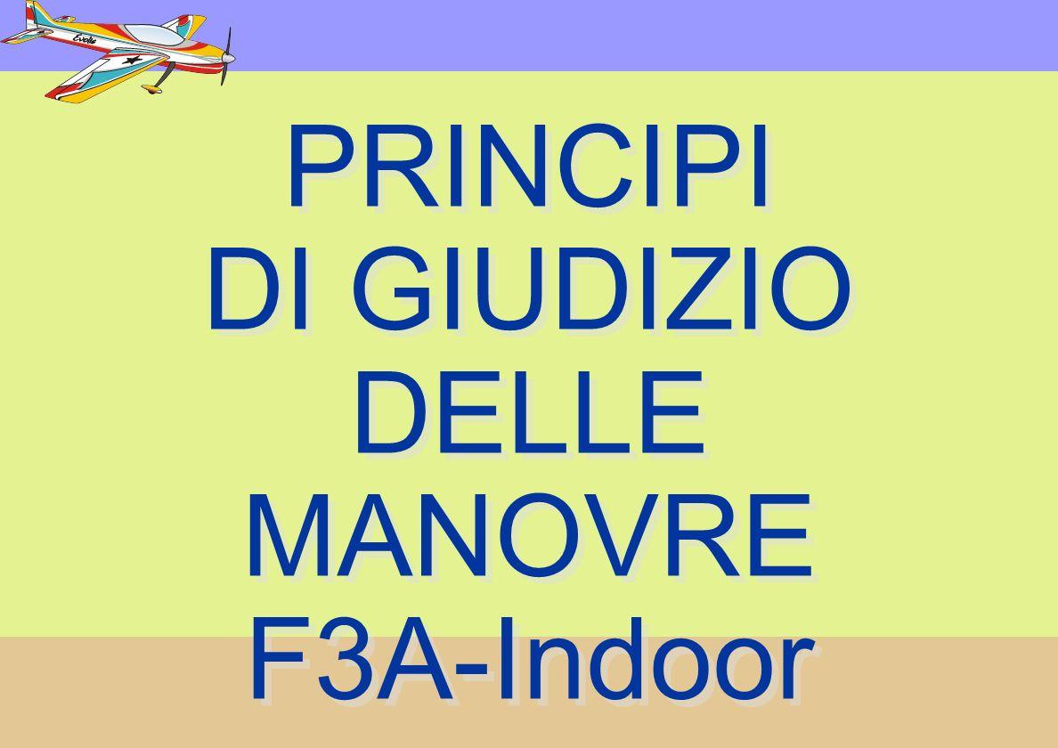 PRINCIPI DI GIUDIZIO DELLE MANOVRE F3A-Indoor PRINCIPI DI GIUDIZIO DELLE MANOVRE F3A-Indoor