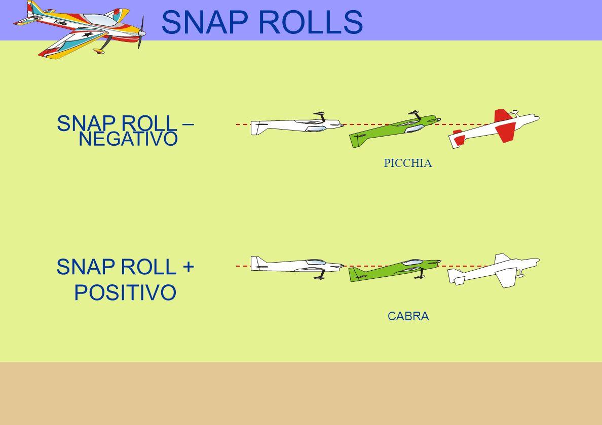 SNAP ROLLS SNAP ROLL + POSITIVO PICCHIA SNAP ROLL _ NEGATIVO CABRA