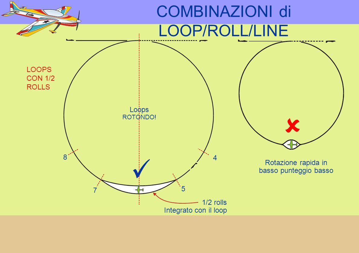 LOOPS CON 1/2 ROLLS Loops ROTONDO.