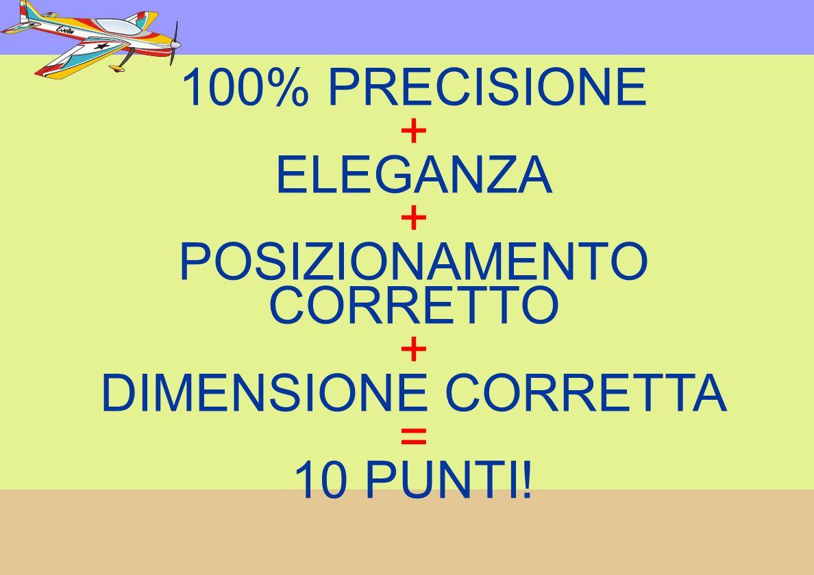 100% PRECISIONE + ELEGANZA + POSIZIONAMENTO CORRETTO + DIMENSIONE CORRETTA = 10 PUNTI!