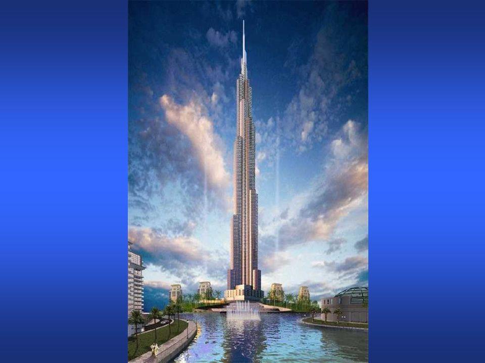 The Burj Dubai La costruzione é iniziata nel 2005 e dovrebbe essere finita questanno.