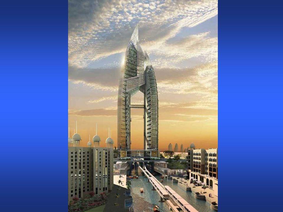 The Trump International Hotel & Tower sarà il centro delle tre isole-palma, il Palme Jumeirah.