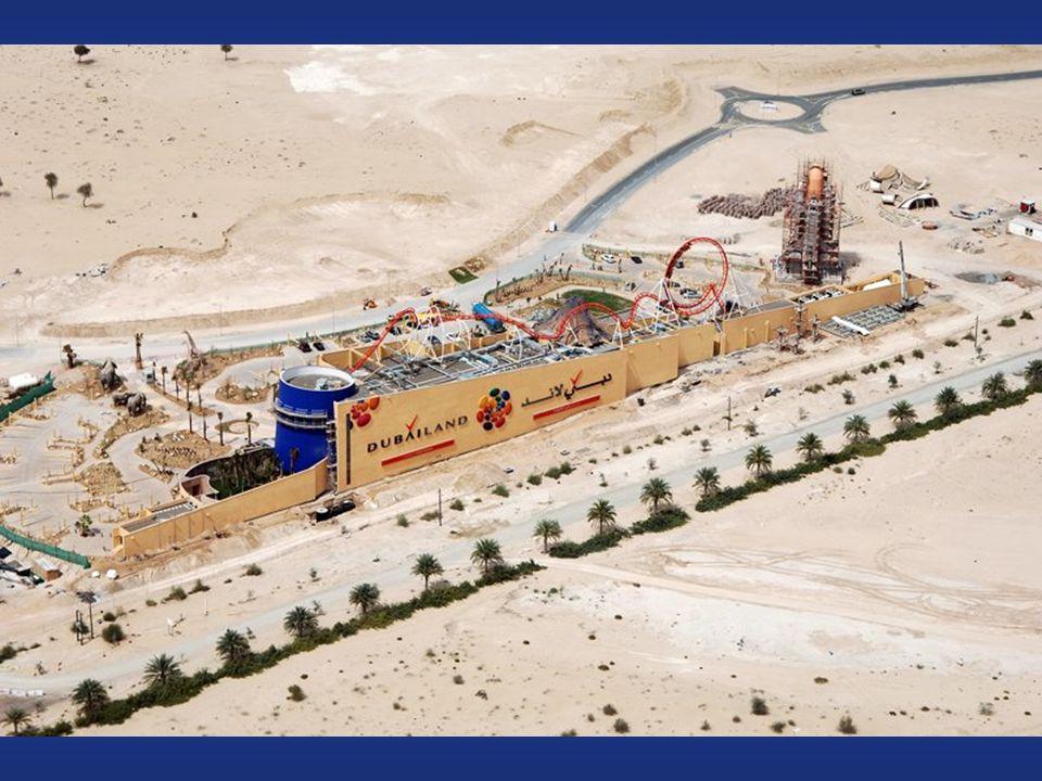 Dubailand Attualmente il Walt Disney World Resort, a Orlando é la maggiore combinazione di esperienza di parchi connessi e il maggiore datore di lavoro locale con 58.000 dipendenti.