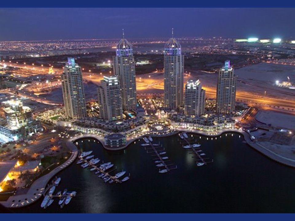 Al porto di Dubai sono pianificati circa 200 grattacieli.