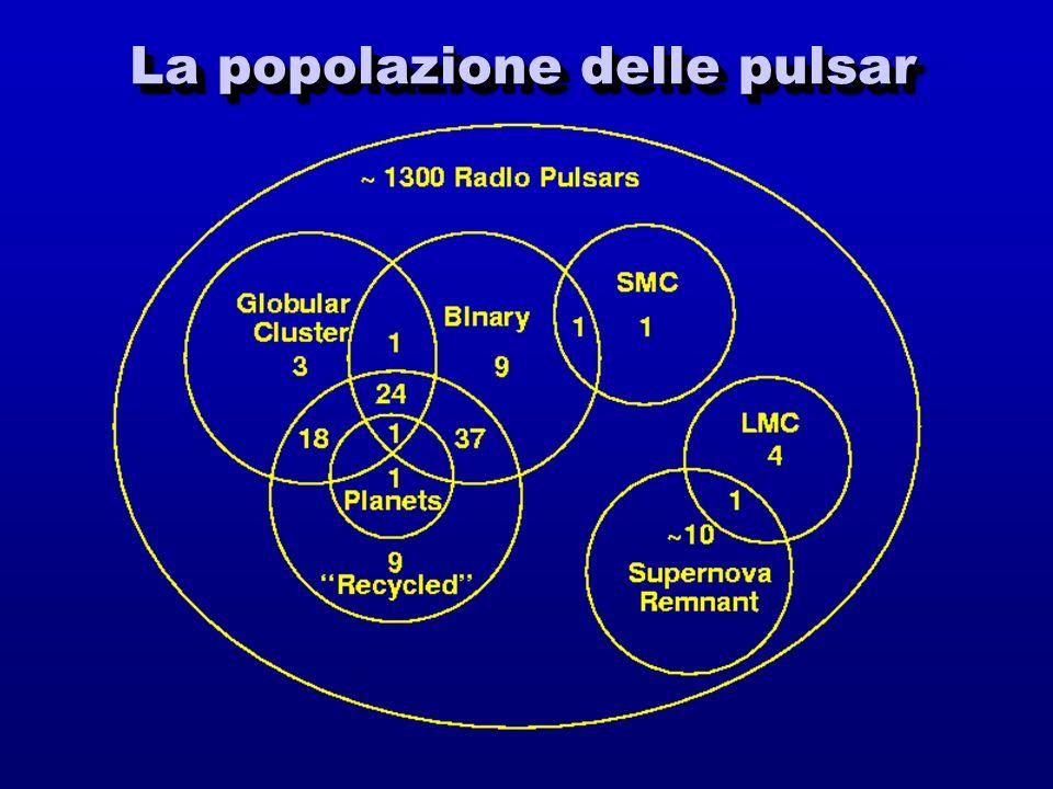 La popolazione delle pulsar