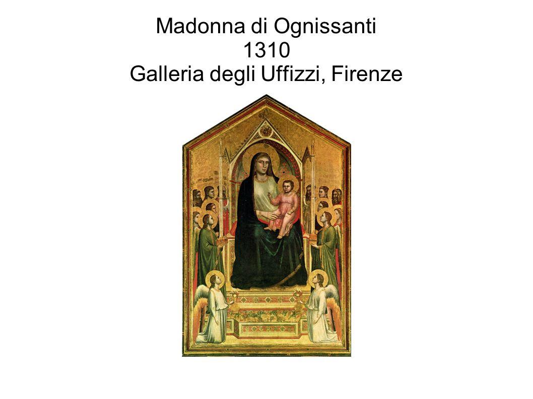 Madonna di Ognissanti 1310 Galleria degli Uffizzi, Firenze