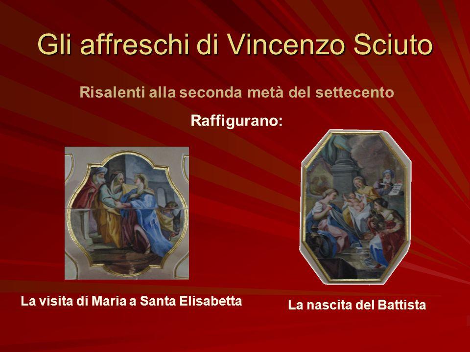 La statua di San Giovanni Ipotesi plausibile Opera di scultori non locali, forse manifattura napoletana (?) databile nella seconda metà del settecento