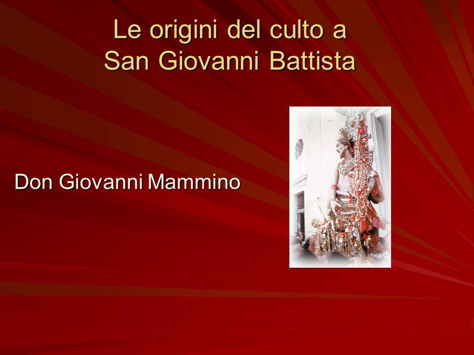 Interventi Don Giovanni Mammino (Il culto di San Giovanni Battista) Antonio Castorina e Mario Grasso (Sondaggio sulla festa ed i giovani) Dino Finocch