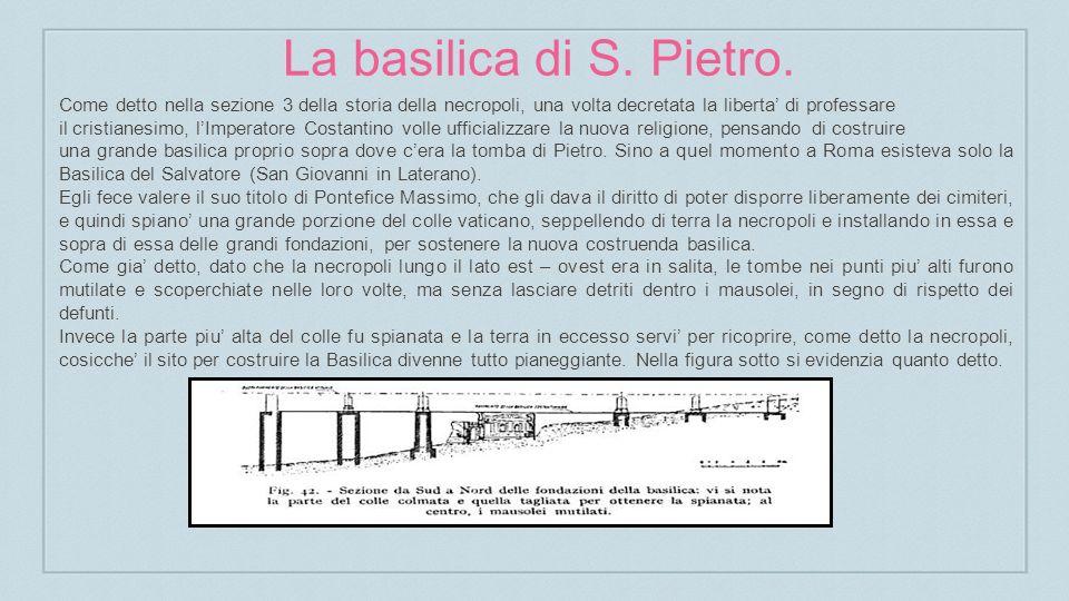 La basilica di S.Pietro.