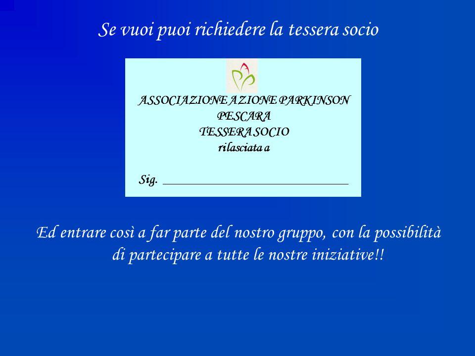 1° CONVEGNO SUL PARKINSON Accesso alle cure per il Parkinson 22 Gennaio 2006 Relatori Prof.
