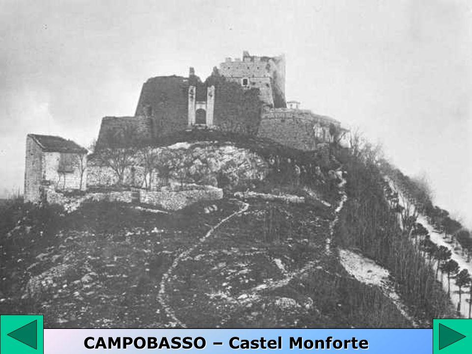 CAMPOBASSO – Castel Monforte