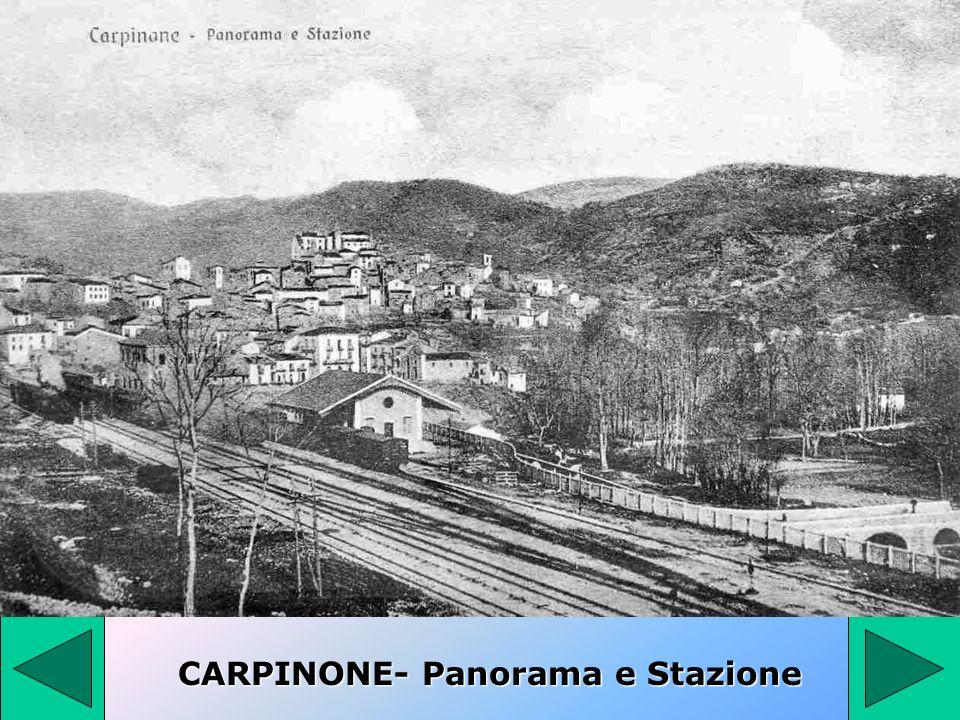 CARPINONE- Panorama e Stazione