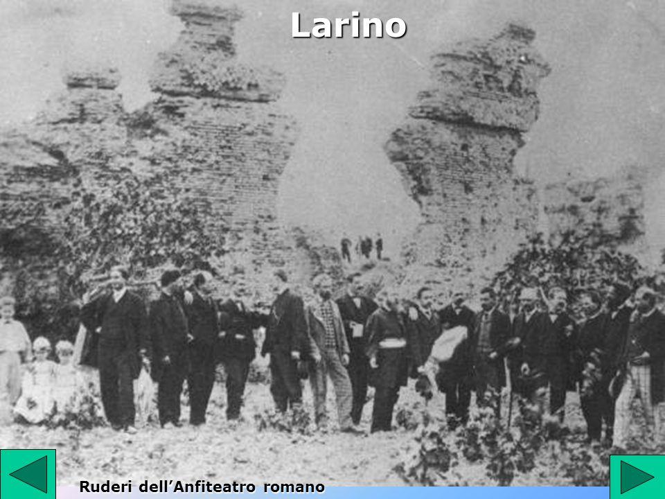 Larino Ruderi dellAnfiteatro romano