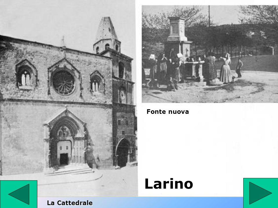 Larino La Cattedrale Fonte nuova