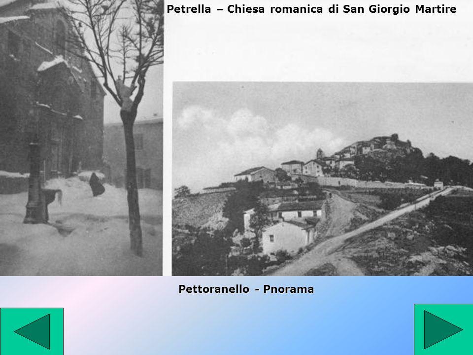Petrella – Chiesa romanica di San Giorgio Martire Pettoranello - Pnorama