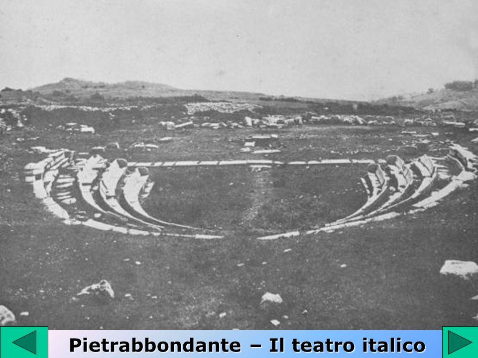 Pietrabbondante – Il teatro italico