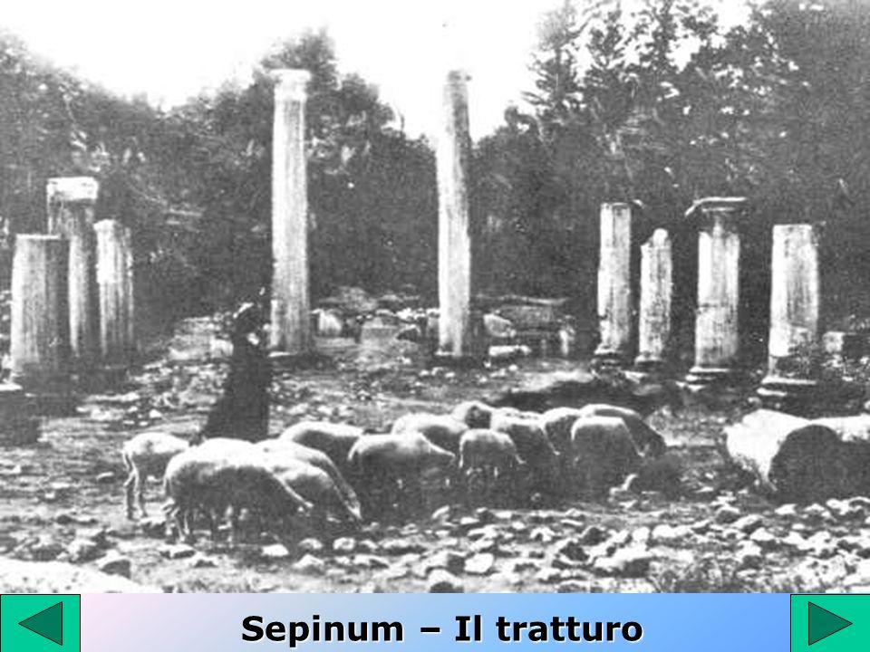 Sepinum – Il tratturo