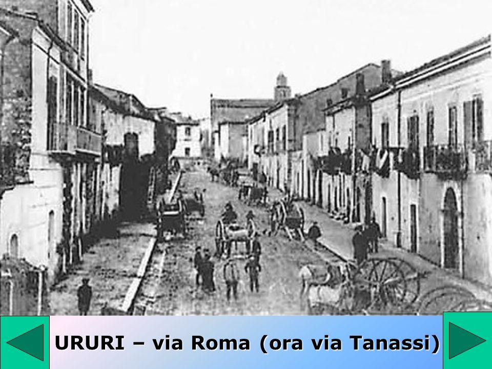 URURI – via Roma (ora via Tanassi)