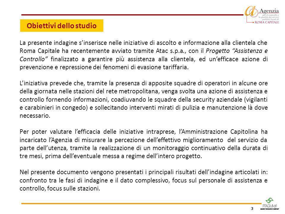 3 Obiettivi dello studio La presente indagine sinserisce nelle iniziative di ascolto e informazione alla clientela che Roma Capitale ha recentemente a