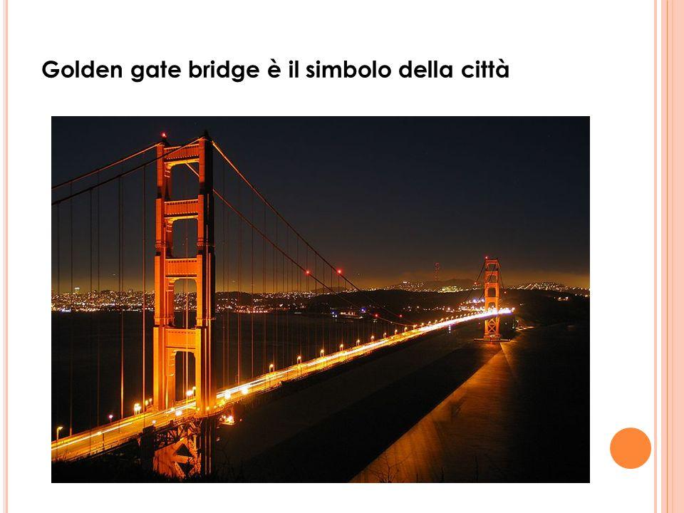 Golden gate bridge è il simbolo della città