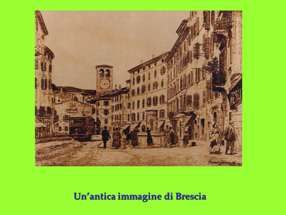 Unantica immagine di Brescia