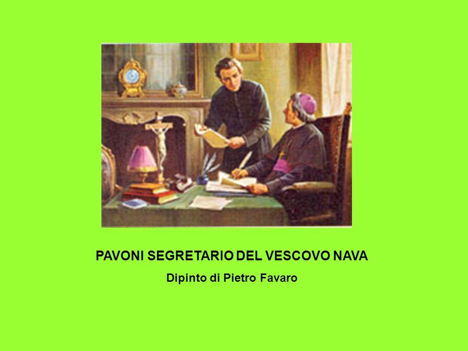 ORATORIO DI S. BARNABA Dipinto di Pietro Favaro