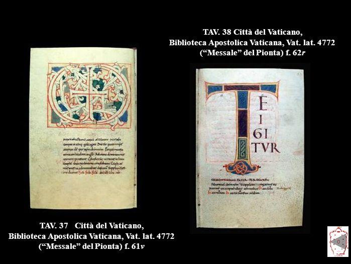 TAV.37Città del Vaticano, Biblioteca Apostolica Vaticana, Vat.