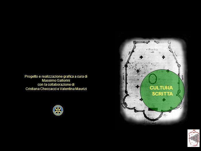 CULTURA SCRITTA Progetto e realizzazione grafica a cura di Massimo Gallorini con la collaborazione di Cristiana Checcacci e Valentina Maurizi