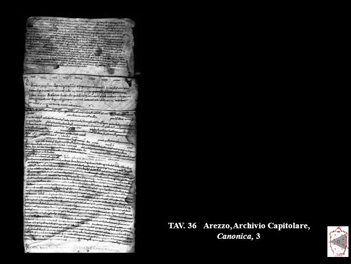 TAV. 36Arezzo, Archivio Capitolare, Canonica, 3