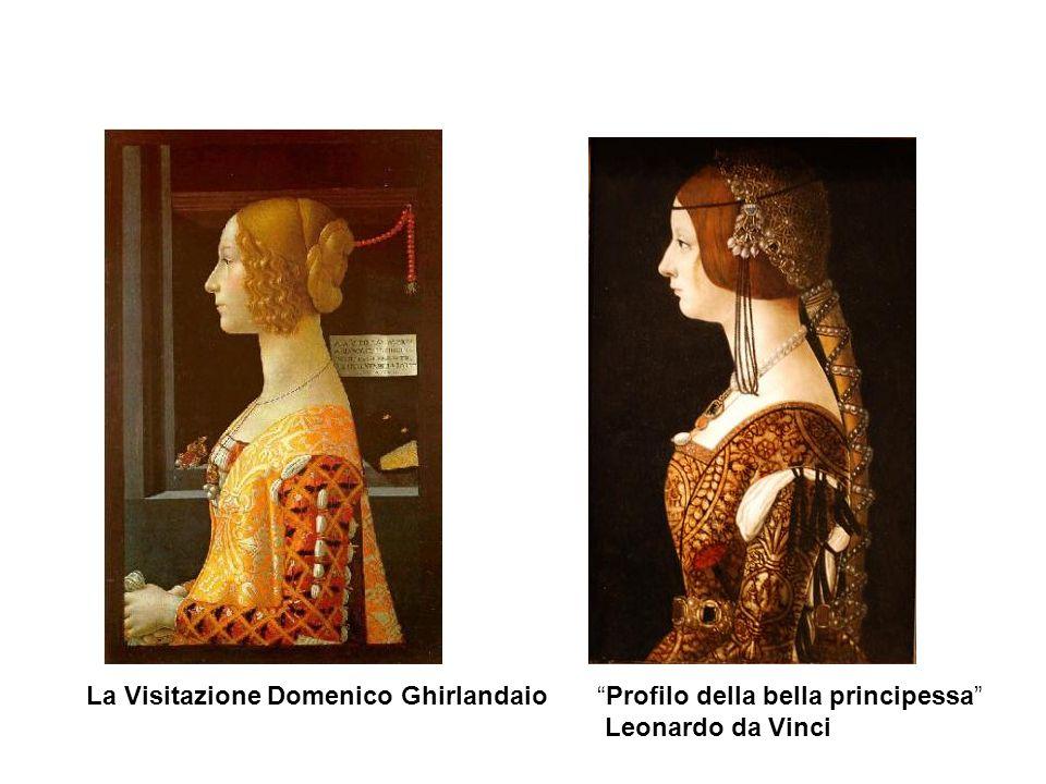 Ritratti del 400 Leonardo da Vinci La dama con lermellino Antonio Pollaiolo, Ritratto di dama, 1470-72